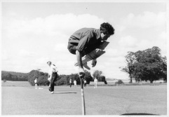 My dad on the cricket field in ?1963.